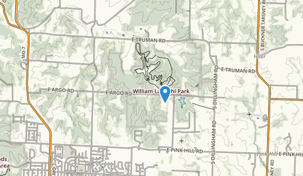 trail locations for William Landahl Park
