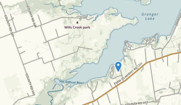 Wills Creek Park Map