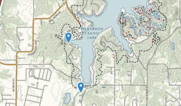 Wyandotte County Park Map