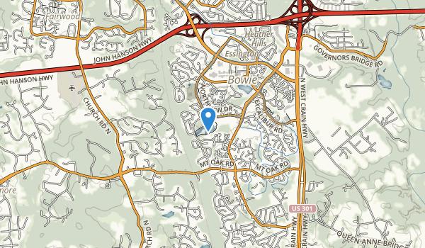 Allen Pond Park Map