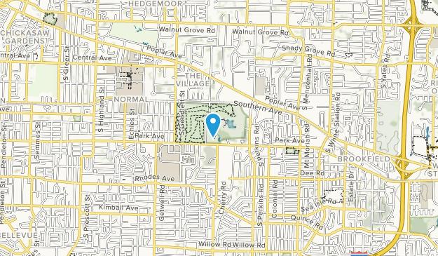 Audubon Park Map