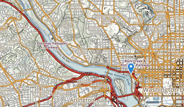 Chesapeake & Ohio Canal Nhp Map