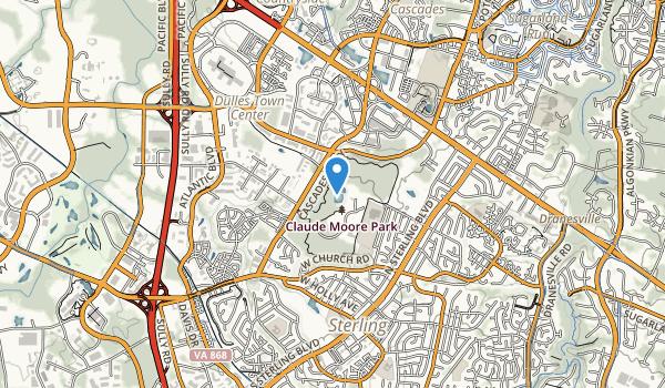 Claude Moore Park Map