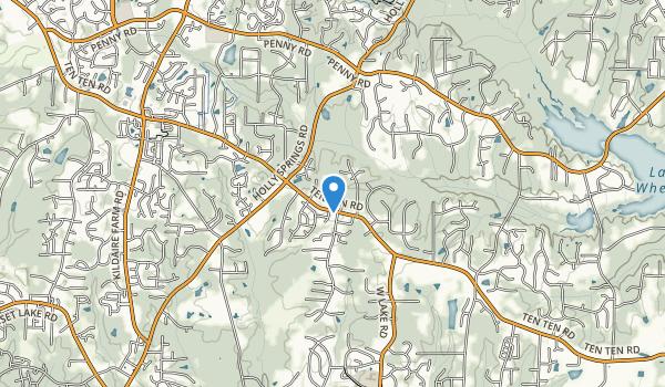 Crowder District Park Map