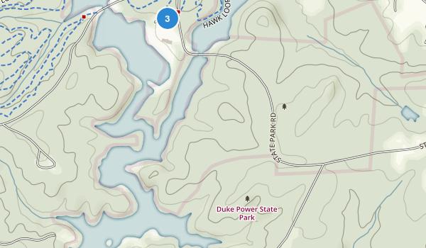 Duke Power State Park Map