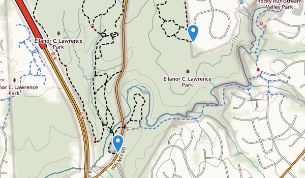 Ellanor C Lawrence Park Map