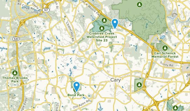 Fred G Bond Metro Park Map