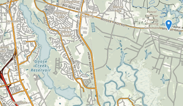 trail locations for Hillsdale Park
