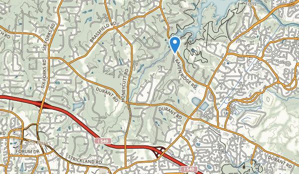 Honeycutt Park Map