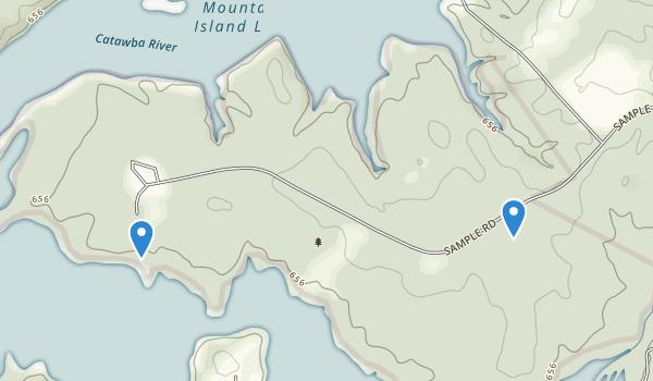 Latta Plantation Park Map