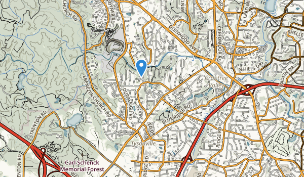 Laurel Hills Park Map