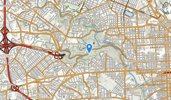 Leakin Park Map