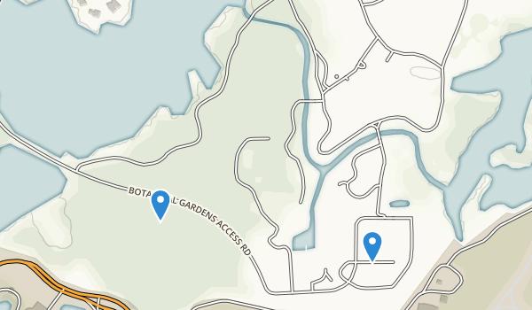 Norfolk Botanical Gardens Map