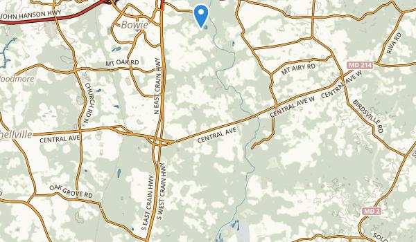 Patuxent River Park Map