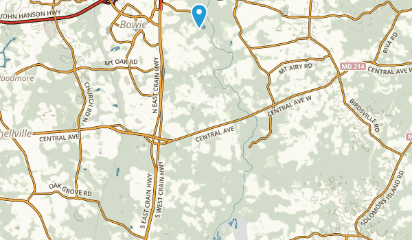 Patuxent River Park Map
