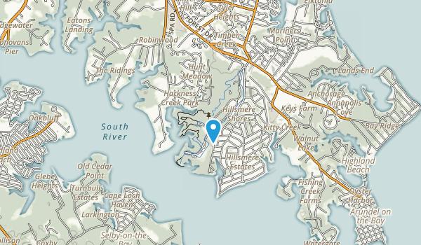 Quiet Waters Park Map