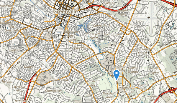 Reedy River Park Map