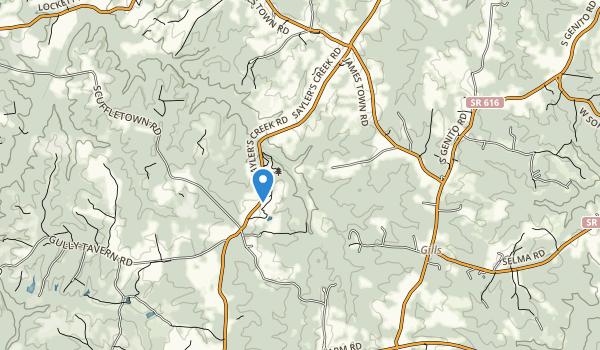 Sailors Creek Battlefield State Park Map