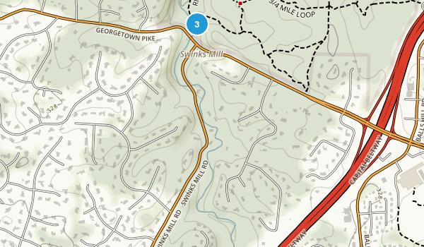 Scotts Run Stream Valley Park Map