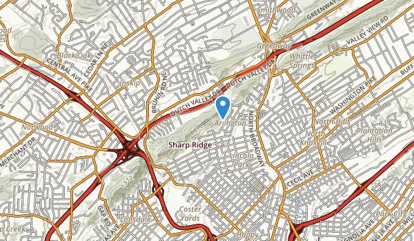 Sharps Ridge Memorial Park Map