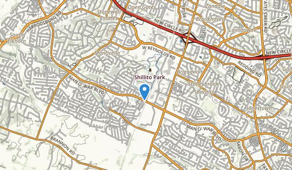 Shillito Park Map