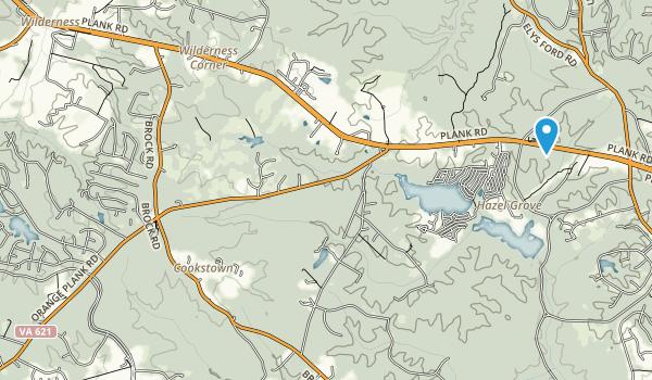 Spotsylvania Co Batl Nmp/Frdrc Map