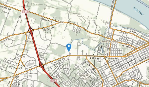 Stewart Nelson Park Map