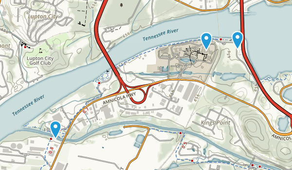 Tennessee River Park Map
