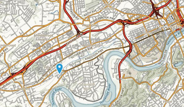 Tyson Park Map