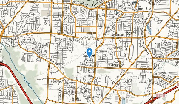 W J Freeman Park Map
