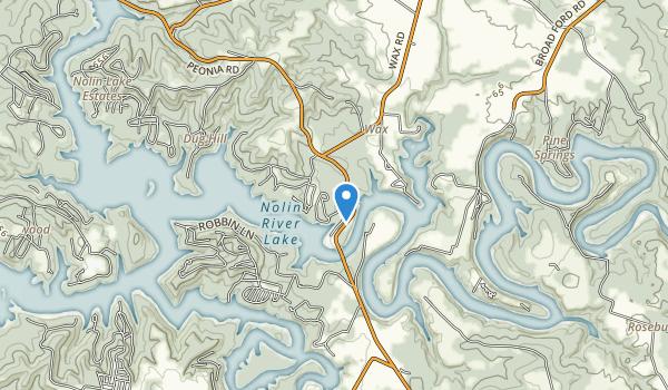 Wax Recreation Area Map