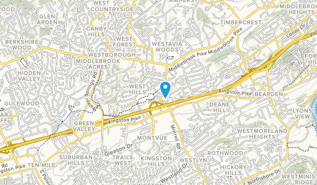 West Hills Park Map