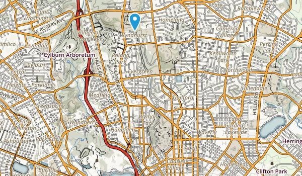 Wyman Park Map