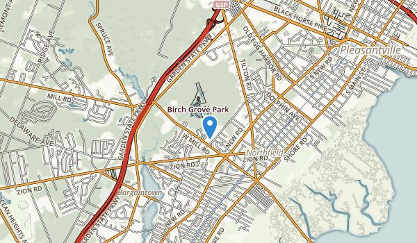 Birch Grove Park Map