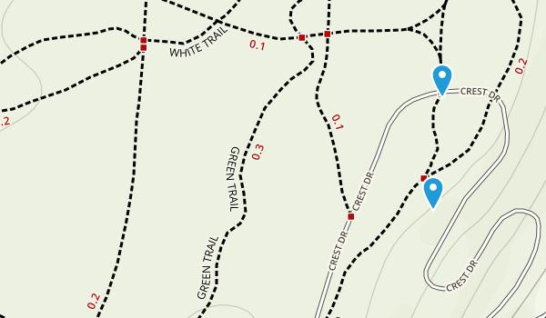 Eagle Rock Reservation Map