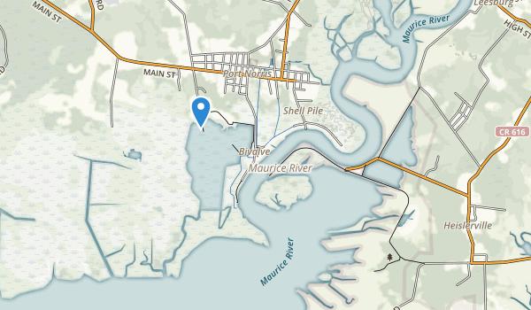 Heislerville Wma Map