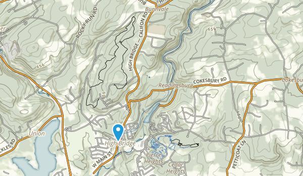 Ken Lockwood Gorge Wma Map