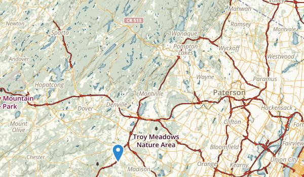 Memorial Field Map