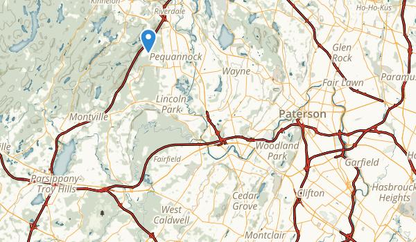 Mountainside Park Map