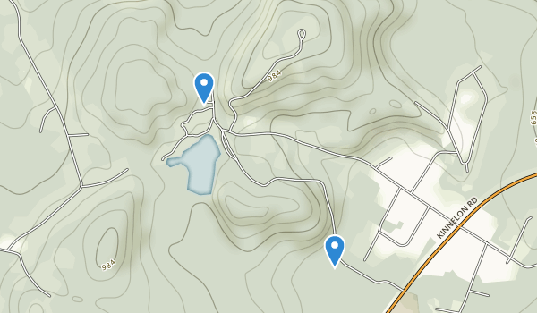 Silas Condict Park Map