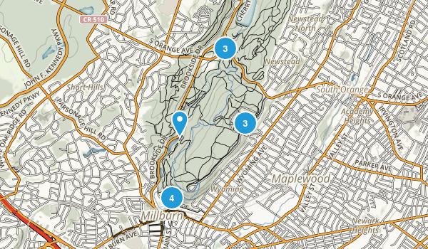 South Mountain Reservation Map