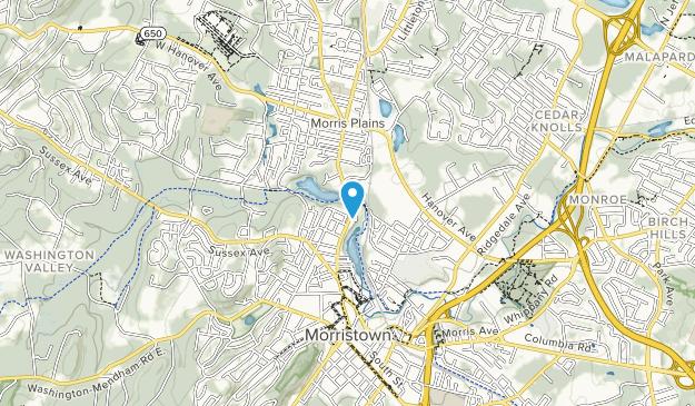 Speedwell Park Map