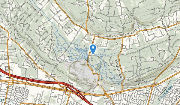 Washington Valley Park Map