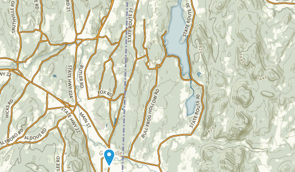 St Catherine State Park Map