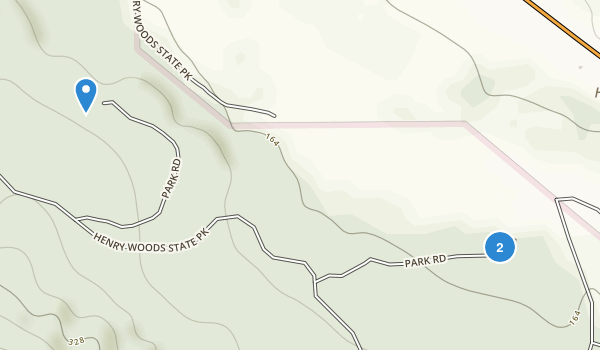 Hendy Woods State Park Map