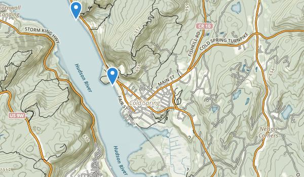 Hudson Highands State Park Map