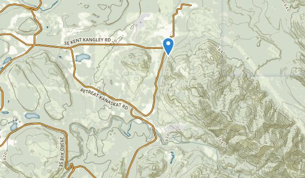 Kanaskat Palmer State Park Map