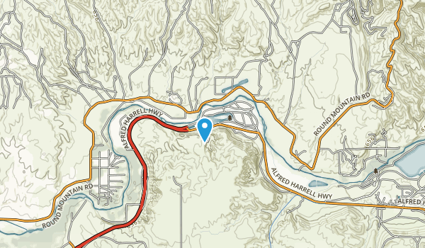 Kern River State Park Map