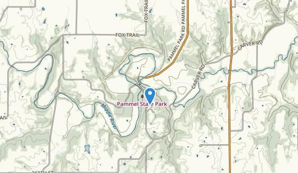 Pammel State Park Map