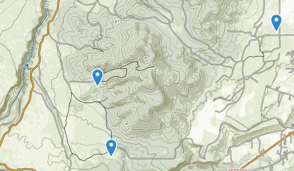 Rio Grande Gorge State Park Map